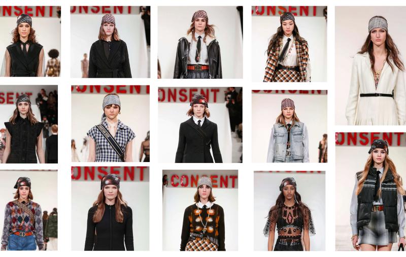 IL FOULARD  con Dior è subito moda