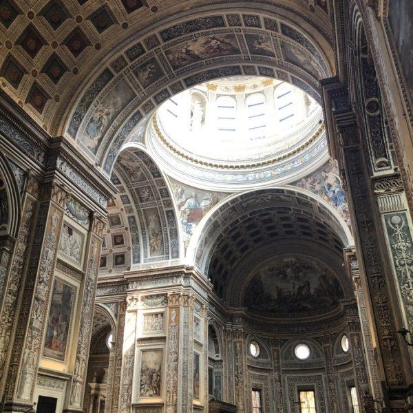 basilica sant'Andrea interno