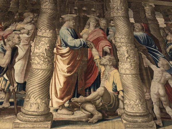 Affresco Raffaello in palazzo ducale