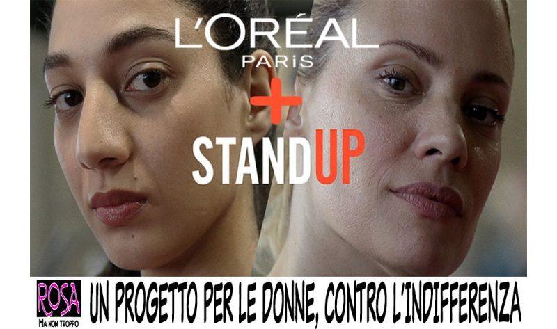 L'OREAL PARIS CONTRO LE MOLESTIE