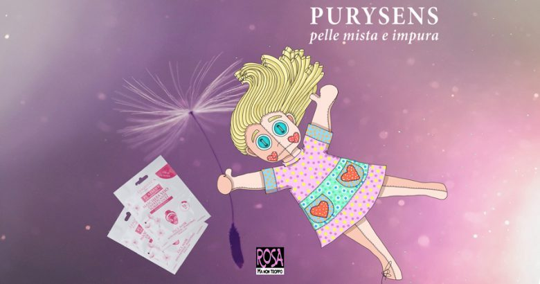 PURYSENS DI ERBORISTICA – L'Argilla rosa in una maschera