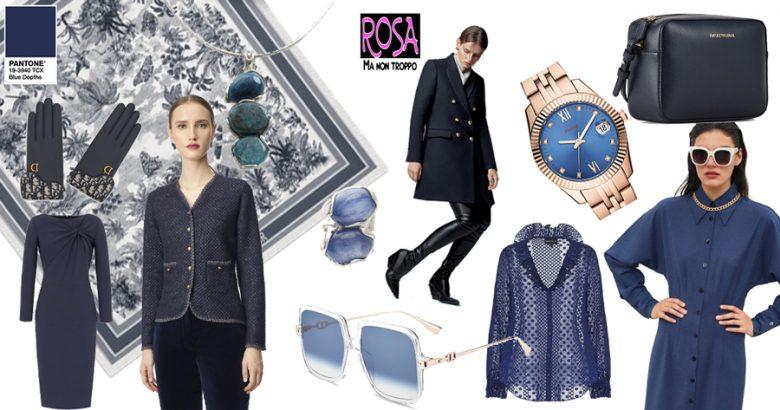 Blue profondo colore Pantone 2020