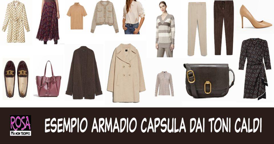 ARMADIO CAPSULA O CAPSULE WARDROBE