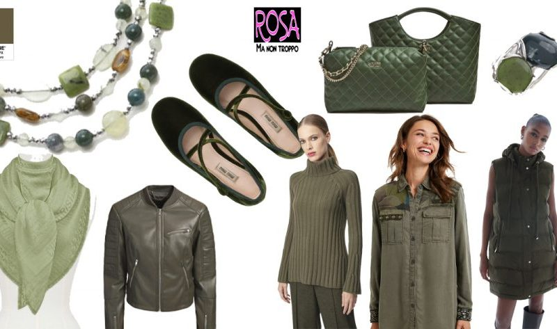 MILITARY OLIVE – I colori della moda secondo Pantone
