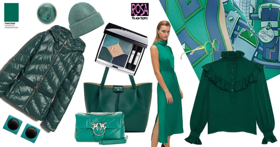 ultramarine green colori moda pantone