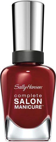 sally hansen red zim