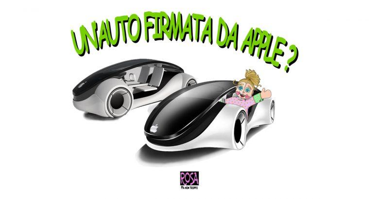 un' auto firmata da apple