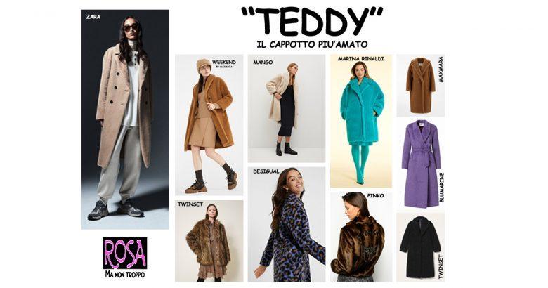 TEDDY, IL CAPPOTTO MUST HAVE DI QUESTO INVERNO.