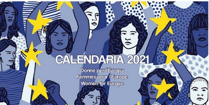 CALENDARIA 2021, L' almanacco delle donne