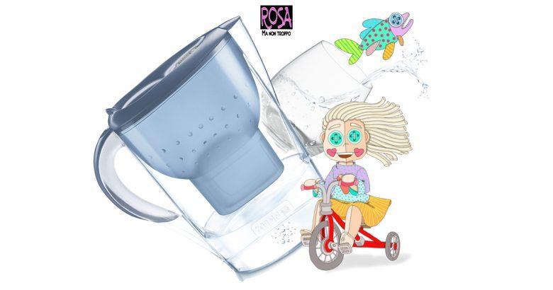 CARAFFA FILTRANTE, Acqua buona dal rubinetto di casa