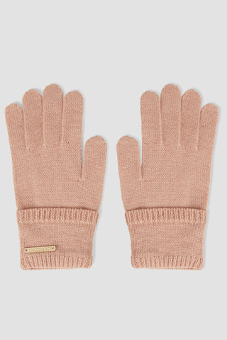 Trussardi guanti rosa