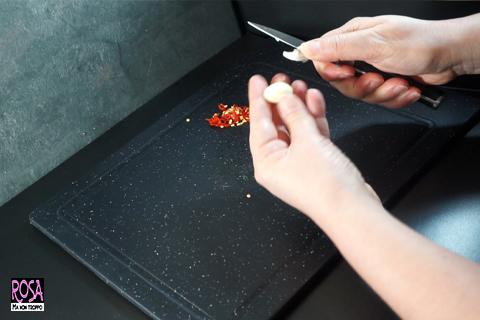 usare il peperoncino fresco