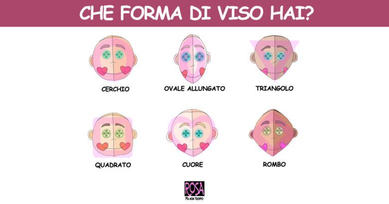 le forme del viso